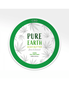 CBD Body Butter-Lime and Coconut
